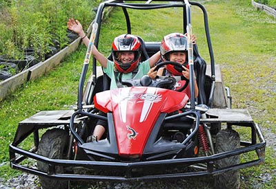 Jayell Ranch Go Kart Rides in the Smokies